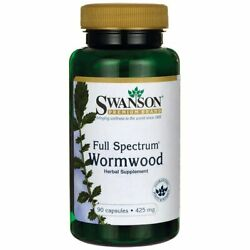 Swanson Sweet Wormwood - May Promote GI Gut Health, Microbial Balance and Dig...