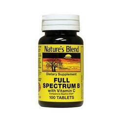 Nature's Blend Full Spectrum with Vitamin C 100 Tabs