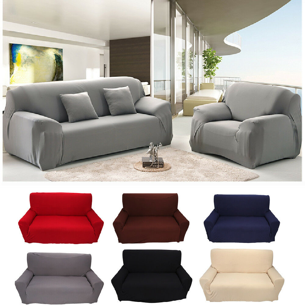 Stretch Slipcover Chair Loveseat Sofa Couch Protect