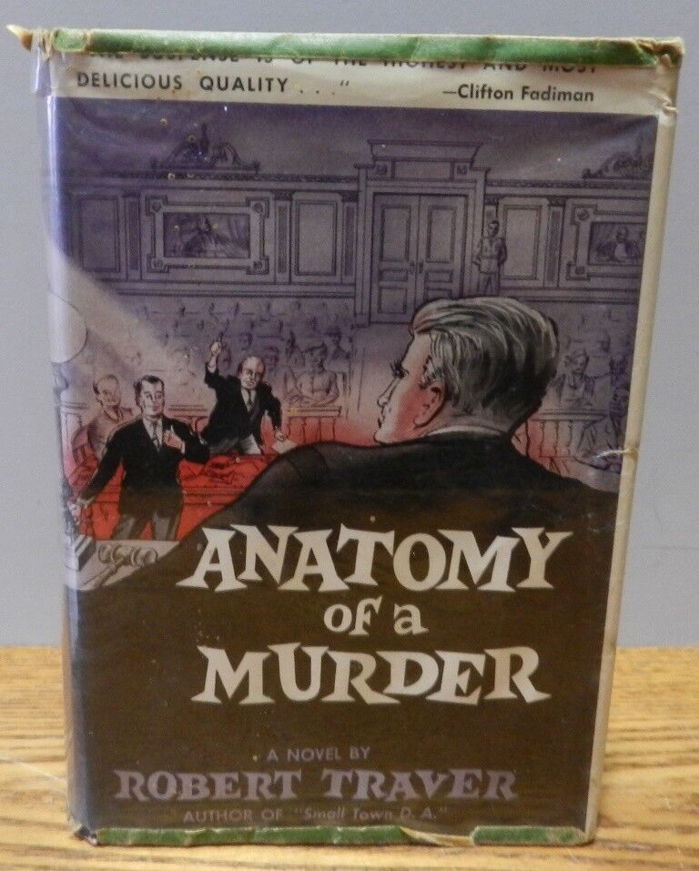 1958 Anatomy Of A Murder By Robert Traver Bomc 1st Edition Hard