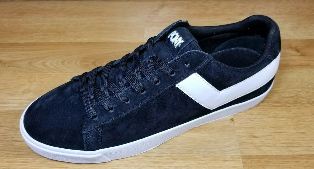 db74252d75 Details about PONY TOP STAR LO CORE SUEDE ( BLACK - WHITE )