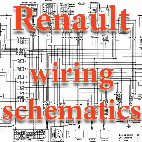 Renault dacia wiring diagrams schematics electric 3 dvd ebay publicscrutiny Images