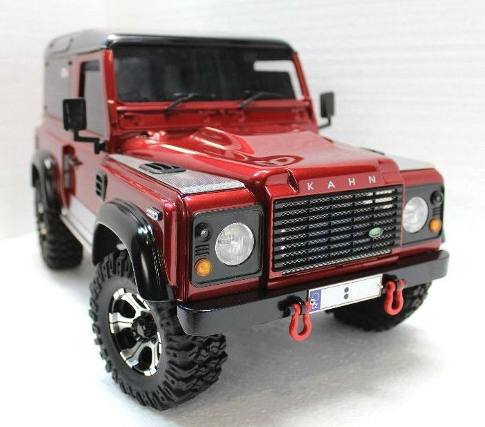 new rc land rover defender d90 kahn retro style scale. Black Bedroom Furniture Sets. Home Design Ideas