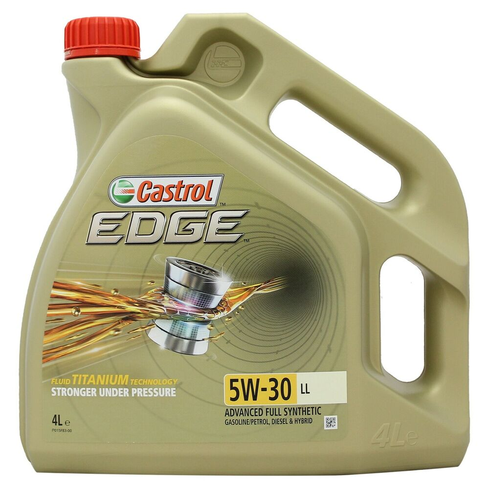 castrol edge titanium 5w 30 ll full synthetic engine oil 4 litres 4l 5w30 4008177107177 ebay. Black Bedroom Furniture Sets. Home Design Ideas