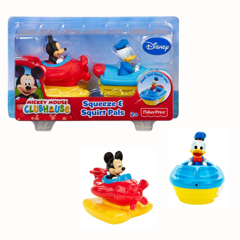 Fisher-Price Disney Mickey Mouse Donald Duck Clubhouse Squeeze ...
