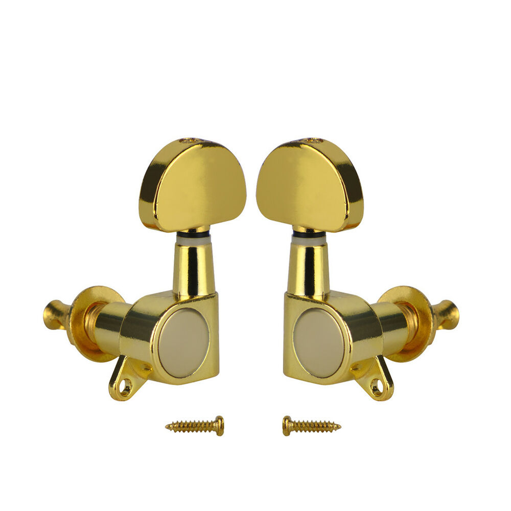 2pcs gold acoustic electric guitar tuning pegs keys 1l 1r machine heads tuners 600685816813 ebay. Black Bedroom Furniture Sets. Home Design Ideas