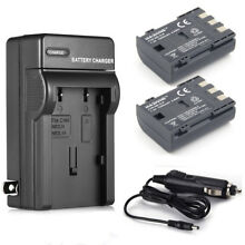 NB-2LH NB-2L Battery / Charger for Canon Rebel XT XTi EOS 350D 400D S30 G7 G9