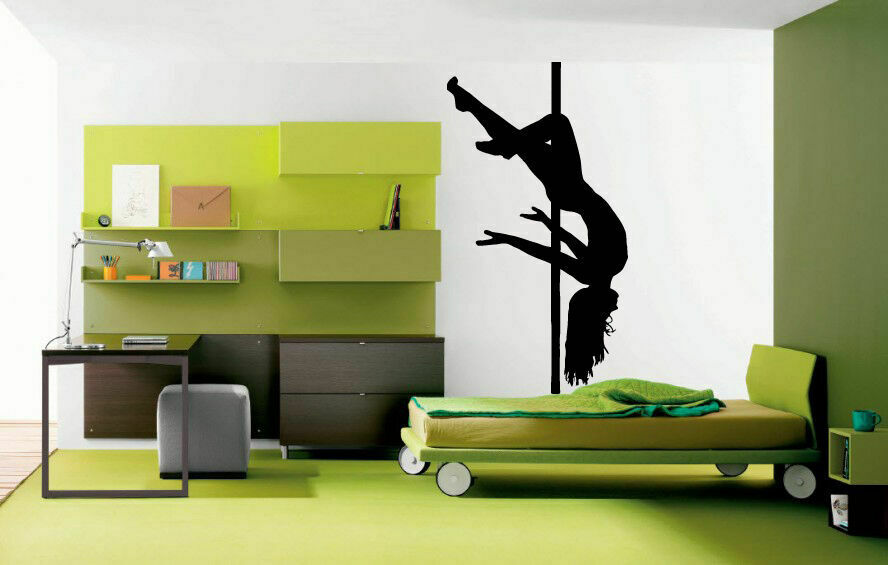 Wall Decal Vinyl Sticker Bedroom Beautiful Girl Sexy -1816