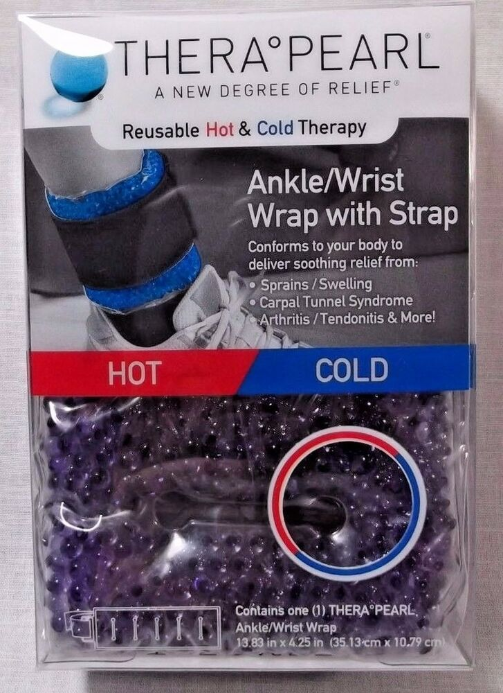 10b92c5245 Details about NEW THERAPEARL THERA PEARL ANKLE WRIST HOT COLD THERAPY PACK  REUSABLE GEL BEADS