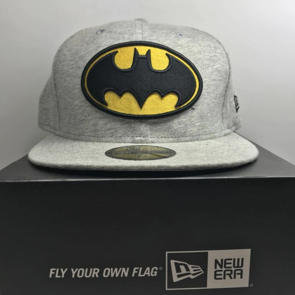 Details about New Era 59Fifty BatMan 7 1 4 Fitted Baseball 6 Cap Free Post 0d77b3aafdc