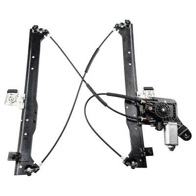 Rear Driver Left Window Regulator + Motor for Chevy Silverado / GMC Sierra 01-07