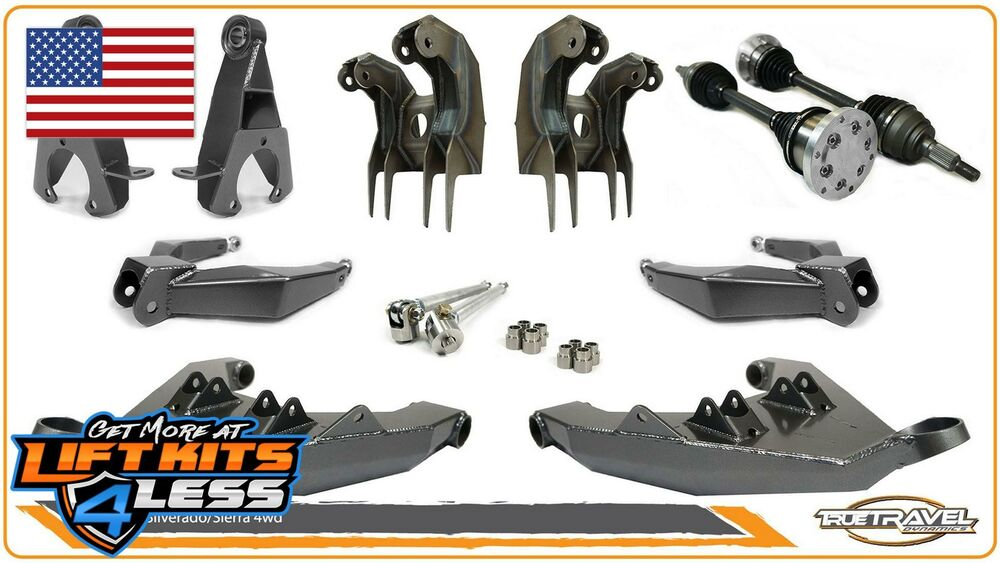 Details About True Travel Dynamics Long Lift Kit For 1999 2006 Chevy Silverado 1500 4wd