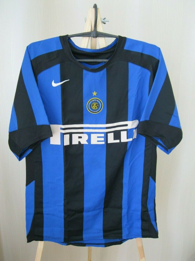 88f5d5ed Details about Inter Milan 2005/2006 Home Sz S Internazionale Nike shirt  jersey maglia maillot