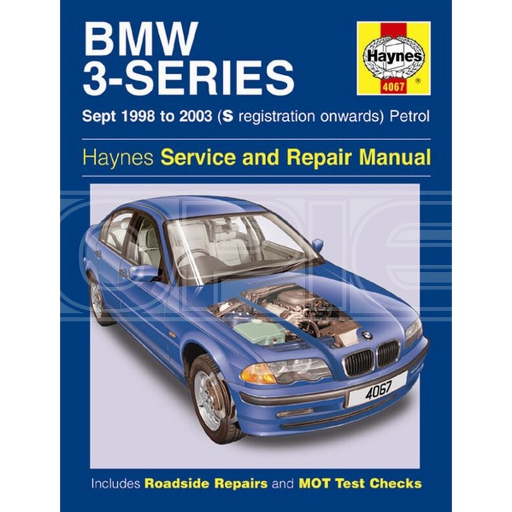 Haynes BMW 3 Series Petrol (Sep 98 - 06) S to 56 Reg - Car Manual (4067) |  eBay