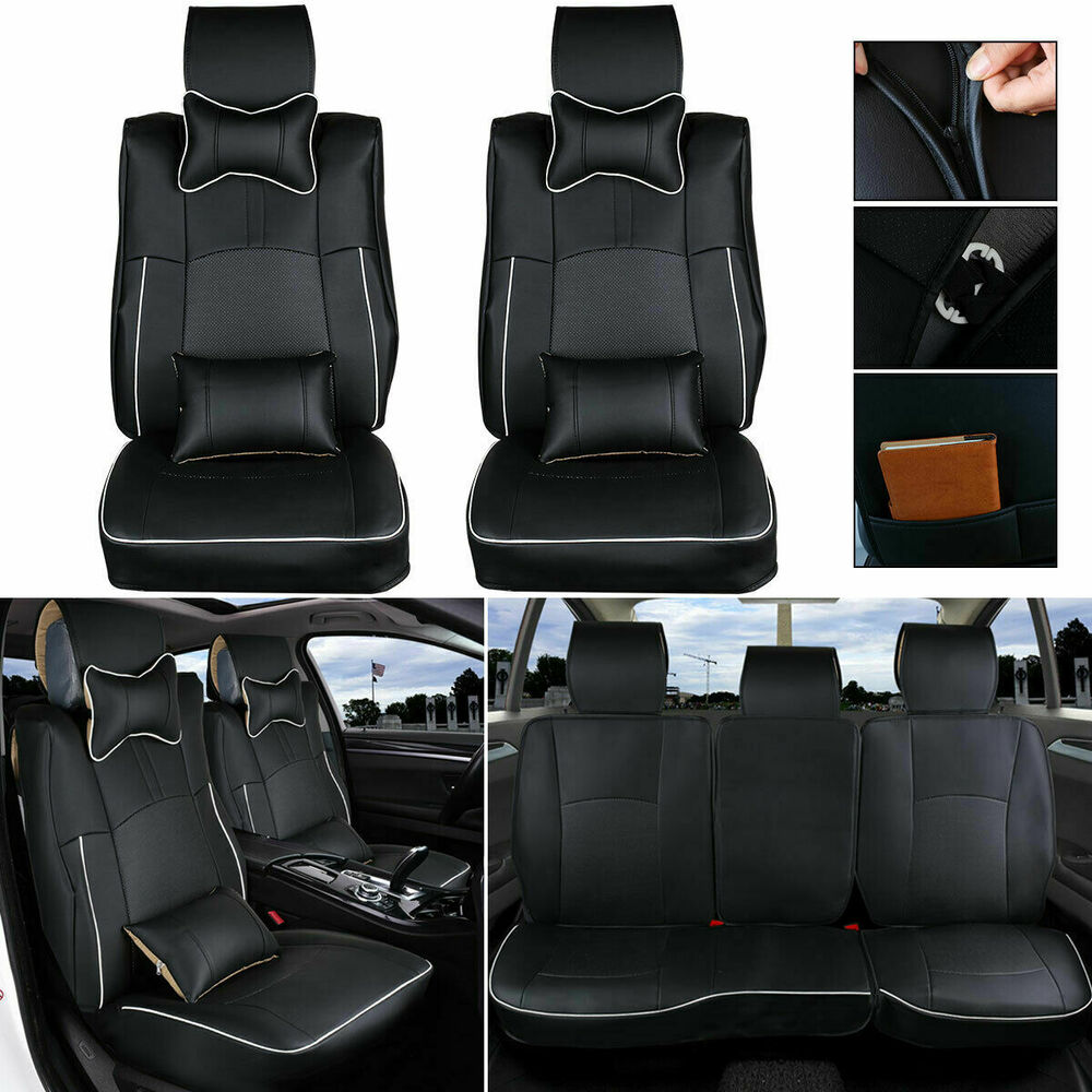 For Dodge Ram 1500 2500 3500 Car Seat Cover Front Rear