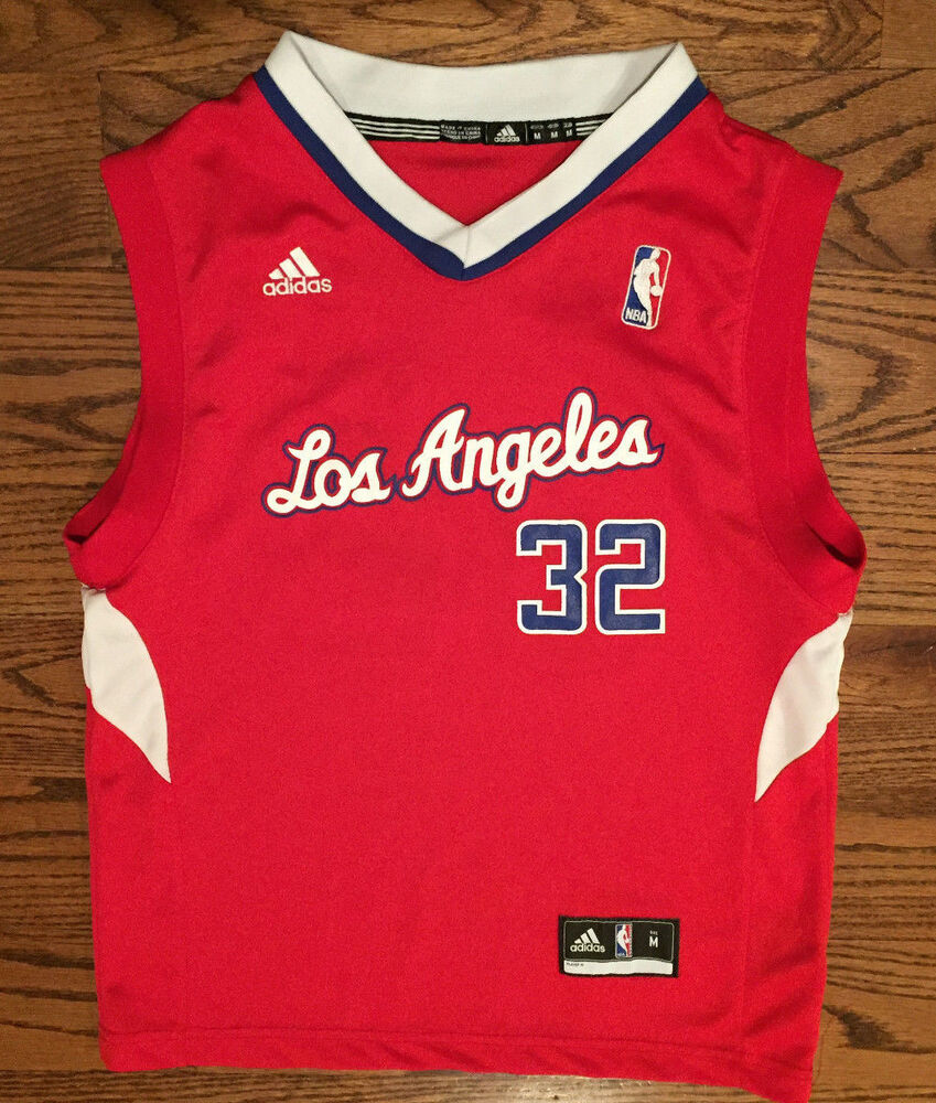 155b157cd Youth Medium adidas Blake Griffin  32 Los Angeles Clippers Red Basketball  Jersey