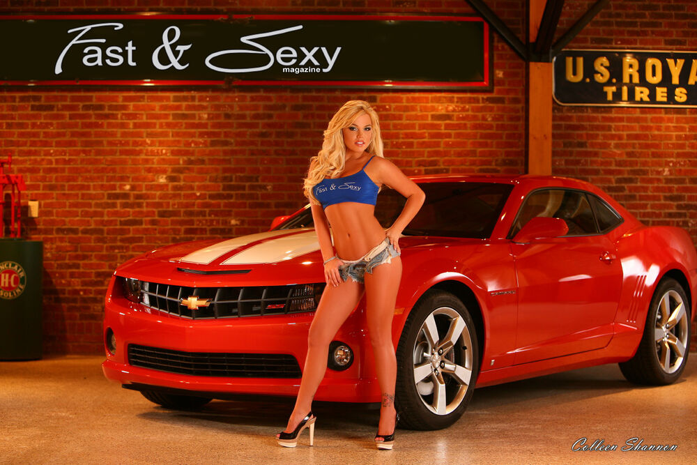 2010 Camaro Ss Fast Amp Sexy Poster Playboy Models Muscle