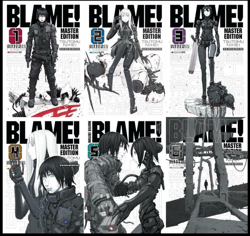 Image result for blame manga