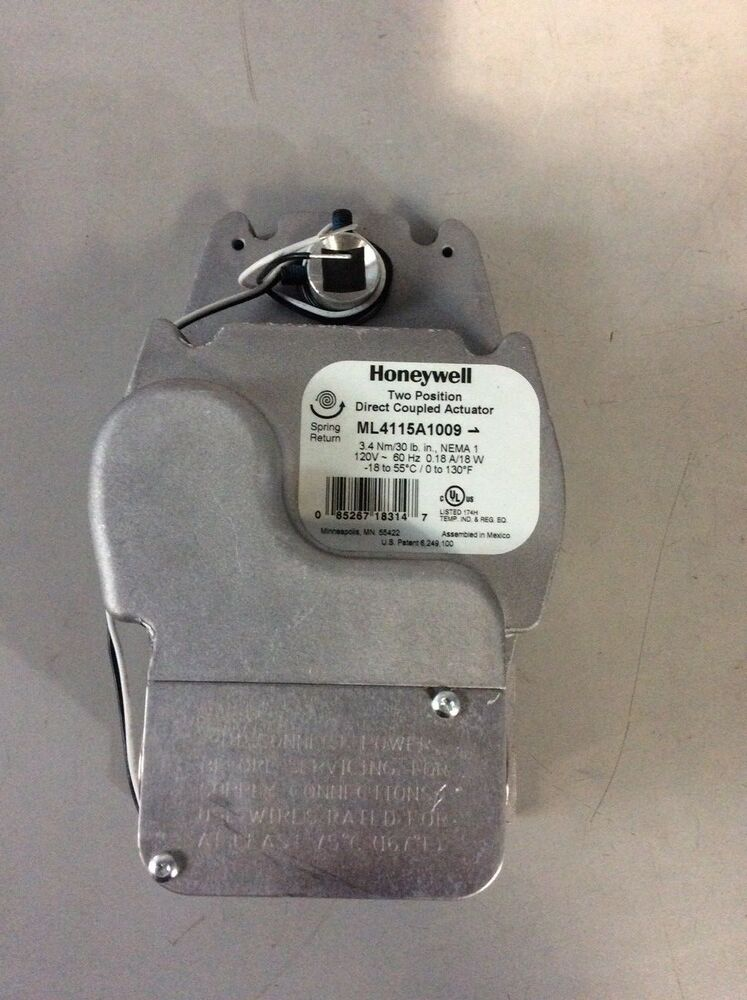 Honeywell Two Position Direct Coupled Actuator Ml4115a1009 Hvac. Honeywell Two Position Direct Coupled Actuator Ml4115a1009 Hvac Electrical Ebay. Wiring. Honeywell Direct Coupled Actuator Wiring Diagram At Scoala.co