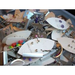 9 x 6'' Bag of Junk Jewelry for Repair and/or Reuse in Other Crafts-Grab Bag