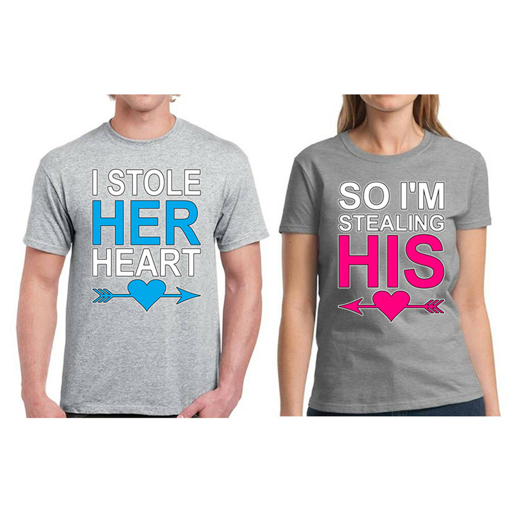 Couple Shirts For Valentines Day Couples Matching T Shirt Gifts For