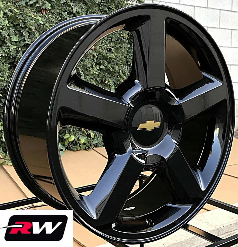 50 Inch Rims On Chevy : Chevy avalanche wheels quot inch  ltz gloss black