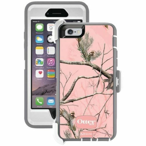 Details about OtterBox Defender Case for iPhone 6 6s - Realtree AP Camo Pink  - NEW 05b991ba41dd