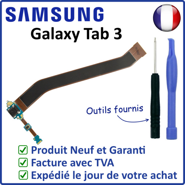 ✖ NAPPE CONNECTEUR DE CHARGE DOCK SAMSUNG GALAXY TAB 3 GT-P5200 P5210 + MICRO ✖