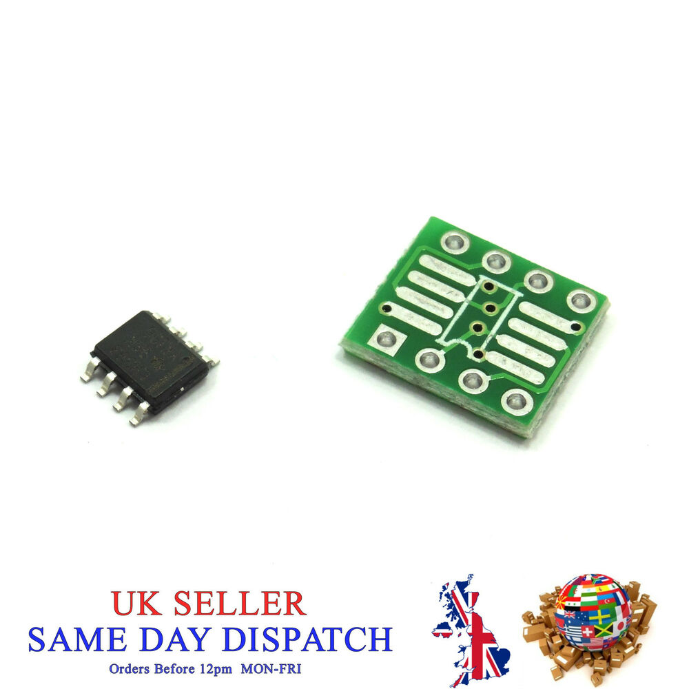Ic Smd Chip And Adapter Plate Msop Sio8ts Sop Sop8 To Dip 8 127mm Lm358 Integrated Circuit Dip8 Ebay 065mm Pcb
