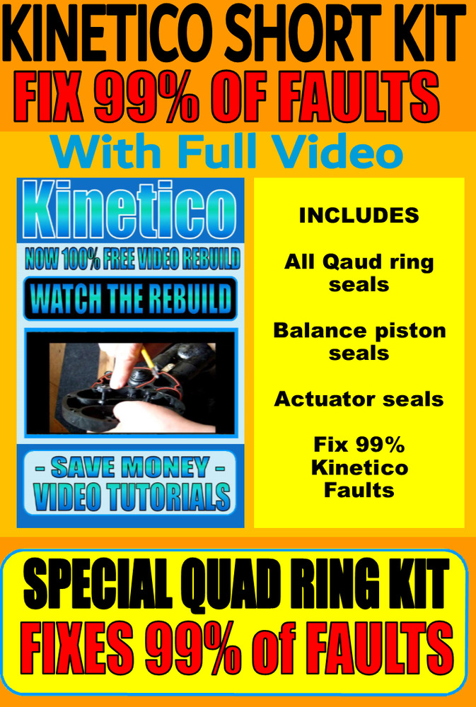 Kinetico Water Softener Repairs Parts Rebuild Kits Fi Every Model Ebay