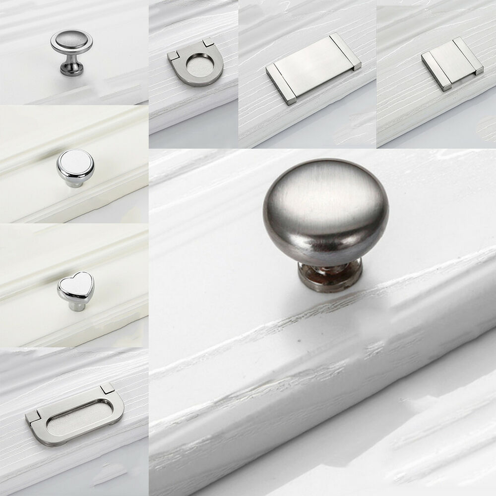 Round Drawer Door S Cabinet Wardrobe Dresser Pull Handles Furniture Hardware Cabinets