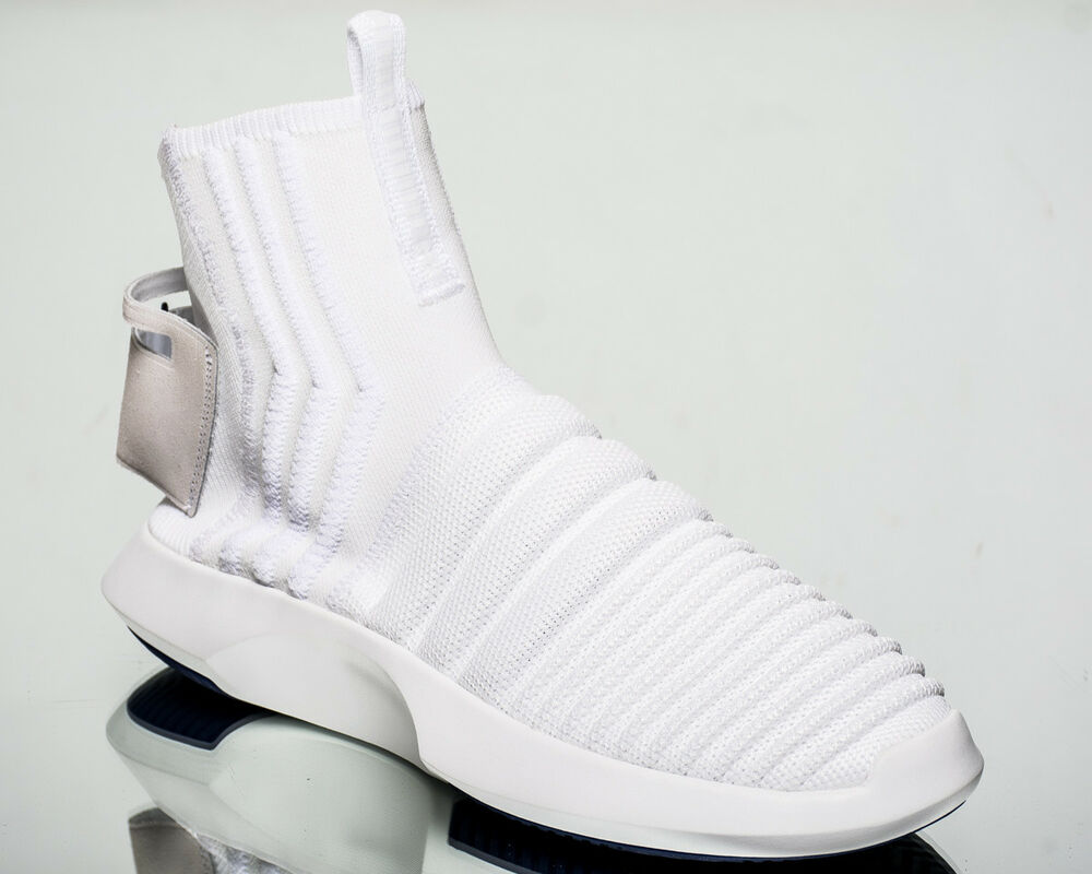 super popular e99fd db1c9 Details about adidas Originals Crazy 1 ADV Primeknit PK men lifestyle shoes  NEW white CQ1012
