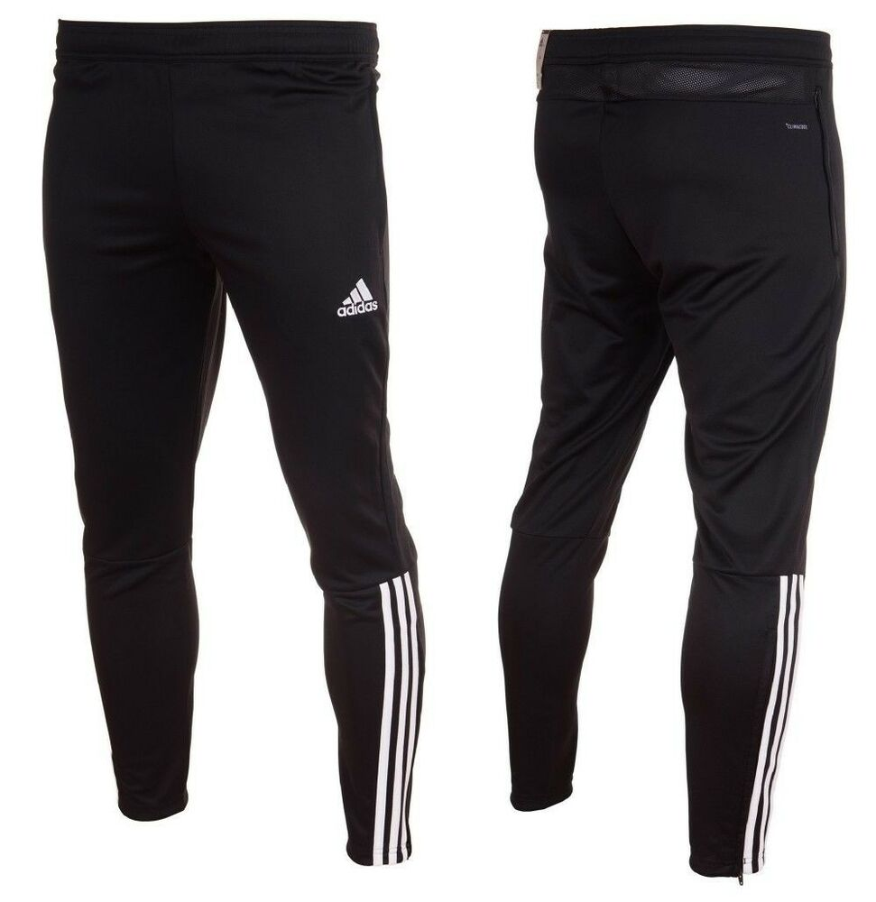 5961e0a1ec Adidas Regista 18 Training Pants Mens Tracksuit Football Bottoms Black  Tapered | eBay