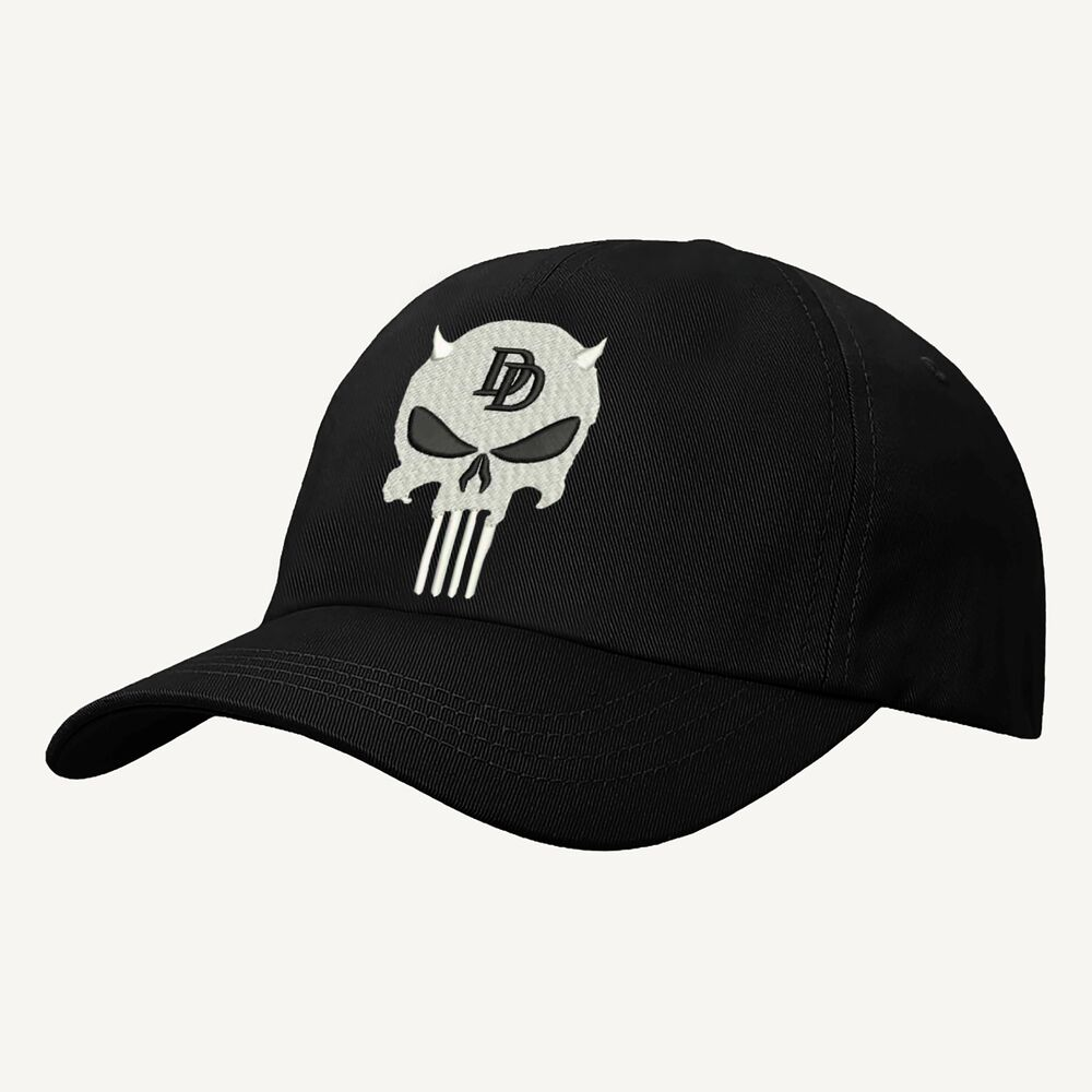 new styles 17567 9dd62 ... aliexpress details about daredevil punisher logo baseball cap marvel  comics hat embroidered design 0d288 7183b