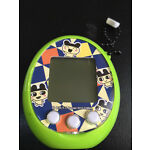 Tamagotchi TamaTown Tama Go Virtual Pet Green w/ Mametchi 2010
