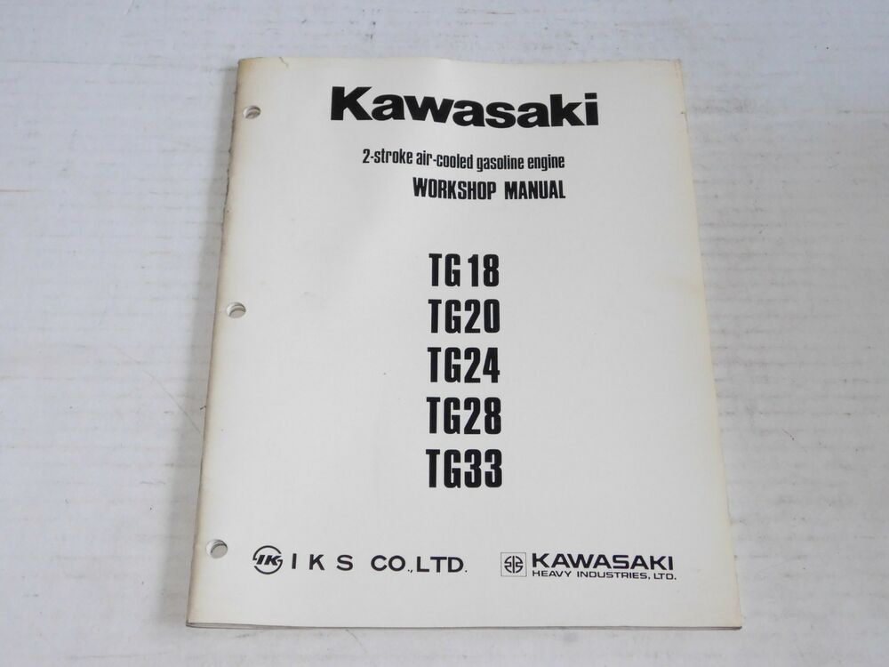 Kawasaki tg33 manual array kawasaki tg18 20 24 28 33 2 stroke engine work shop manual service rh fandeluxe Images