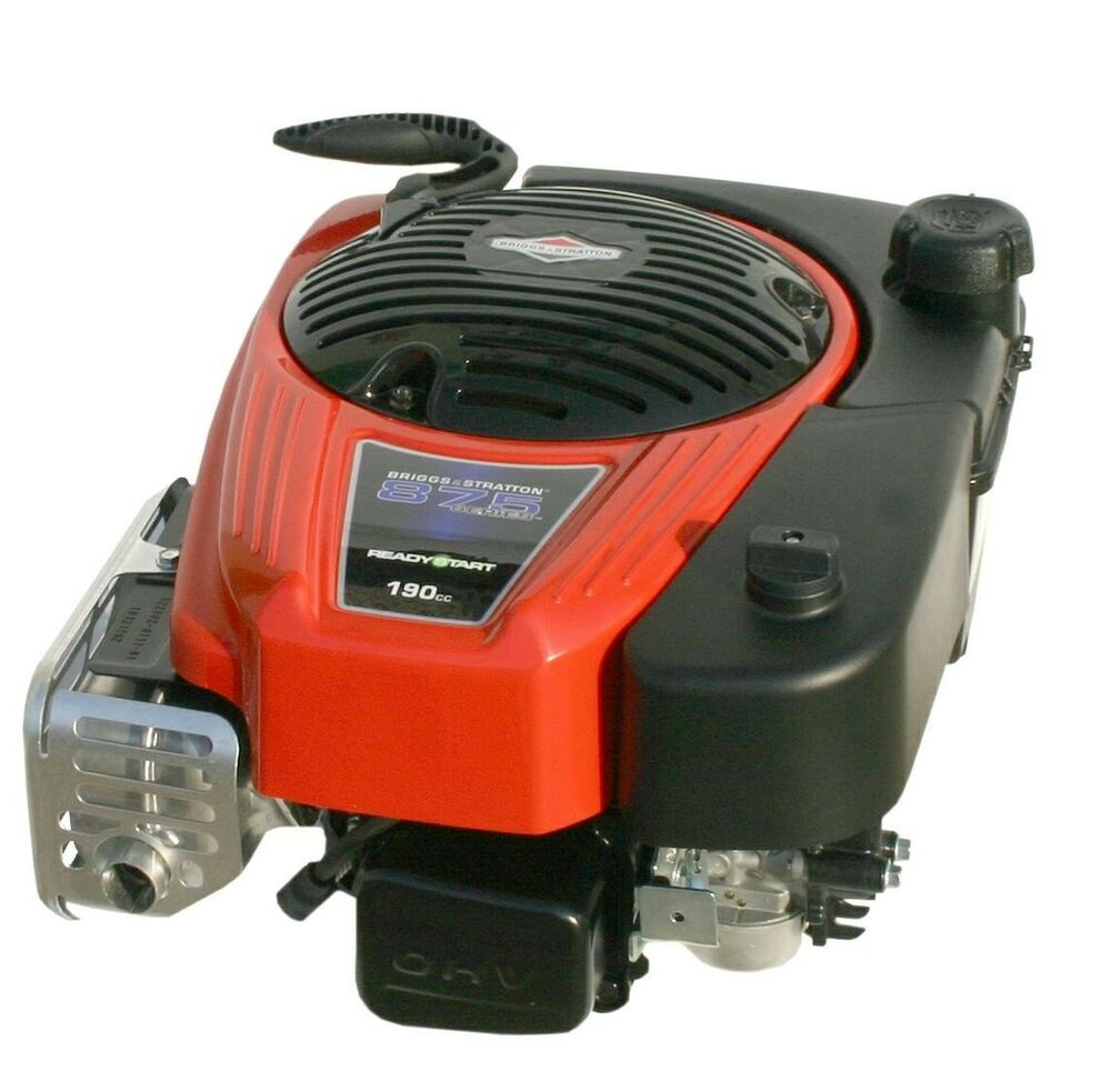 motor komplett briggs stratton 6hp 190cc f r rasenm her rasenm her 4t benzin ebay. Black Bedroom Furniture Sets. Home Design Ideas