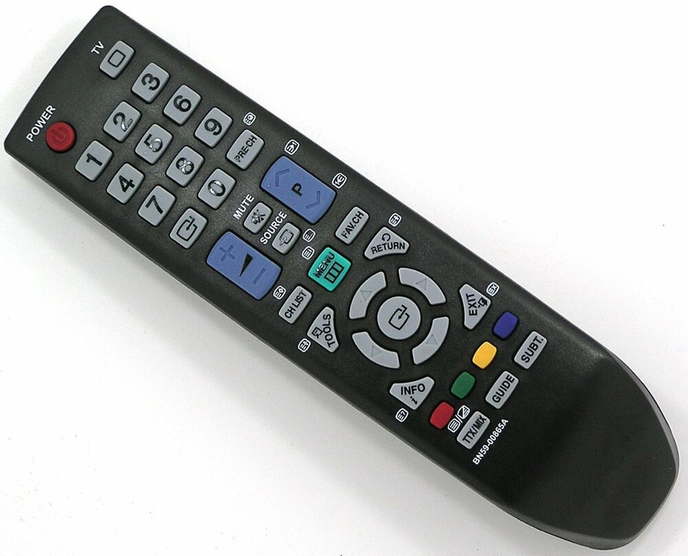 samsung universal remote control for assorted tv s monitors no setup required ebay. Black Bedroom Furniture Sets. Home Design Ideas