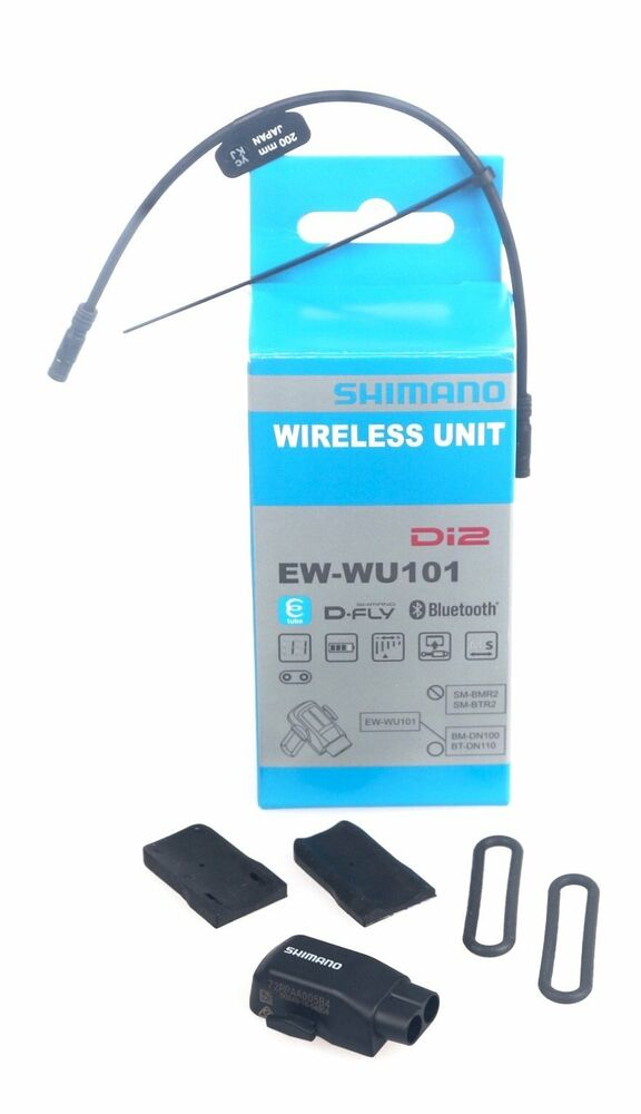 Shimano EW-WU101 Di2 D-Fly ANT+ Bluetooth Wireless Unit +200mm ...
