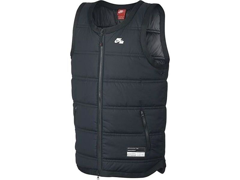 27582367cc55 Details about AUTHENTIC NIKE AIR THERMORE INSULATED VEST BLACK 802648-010
