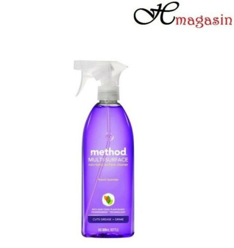 Method Multi-Surface Cleaner Spray Lavender 828ml Powerful Non-Toxic Cleaner
