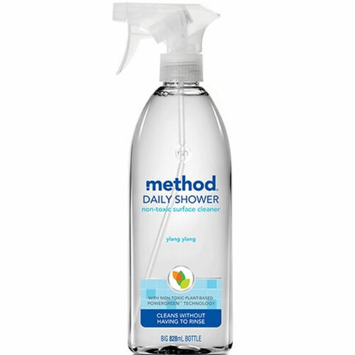 Method Daily Shower Spray 828ml Ylang Fragrance Non-Toxic Surface Cleaner