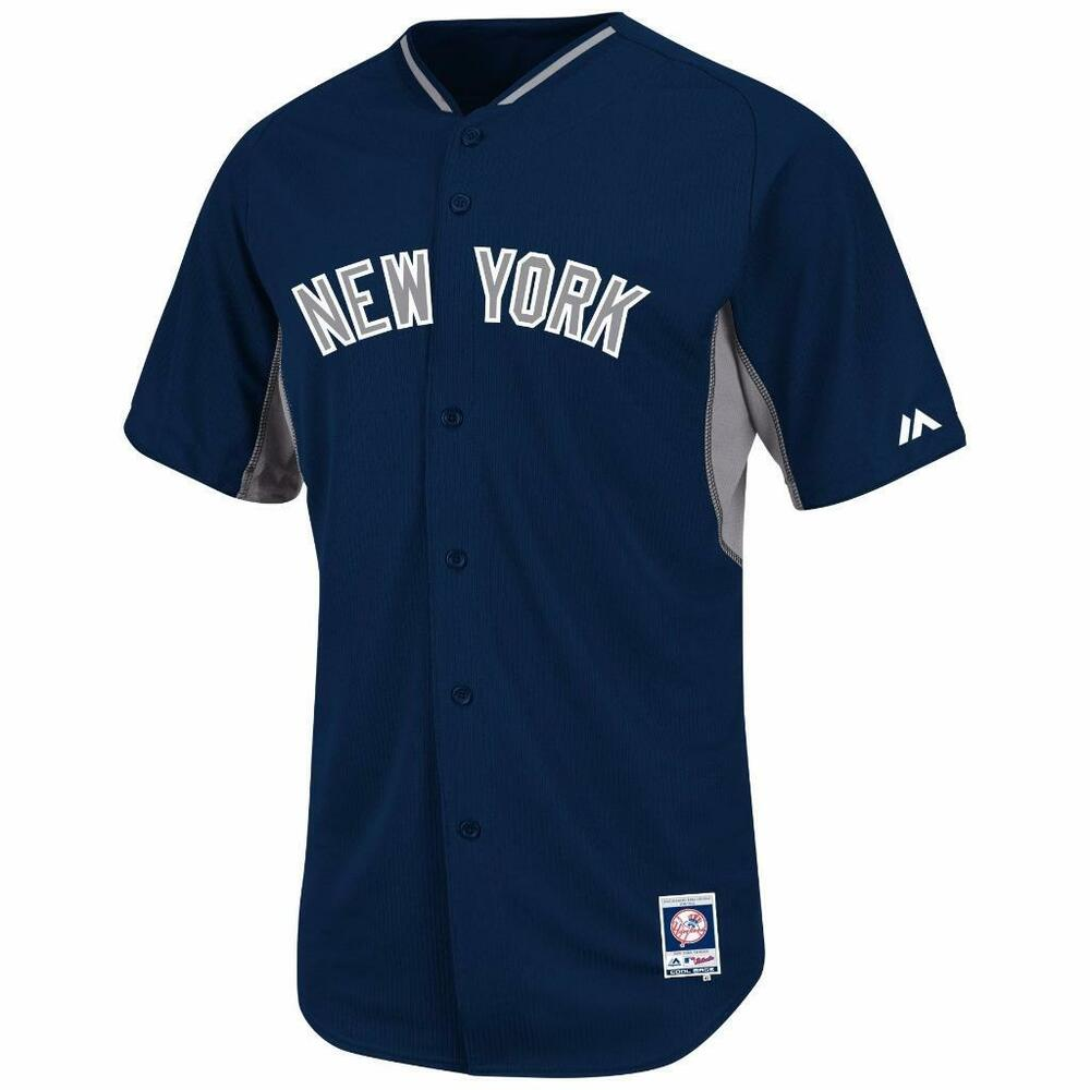 Details about New York Yankees jersey  135 Majestic Authentic On-Field BP  Cool Base NWT f30d533b695