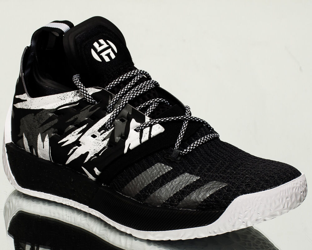 2b2ae1267a5 Details about adidas Harden Vol.2 Traffic Jam men basketball shoes NEW  black white grey AH2217