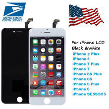 Original iPhone 6 6s Plus 7 8 5G 5S 5C LCD Touch Screen Digitizer Replacement US