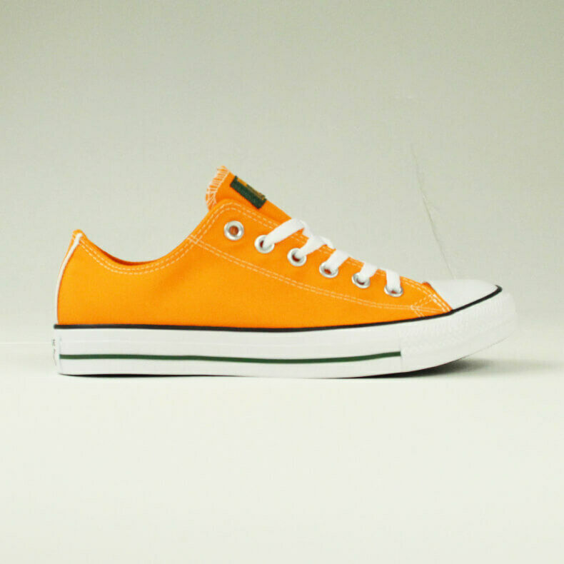 1ce9a415825b12 Details about Converse All Star Ox Low Shoes SS18 Trainers New in Orange  Size UK size 4-10