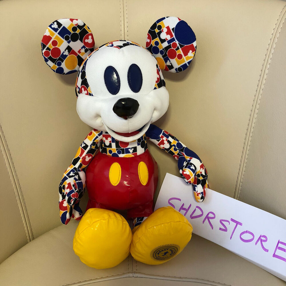 Nwt mickey mouse memories march plush disney store authentic limited edition ebay - Disney store mickey mouse ...