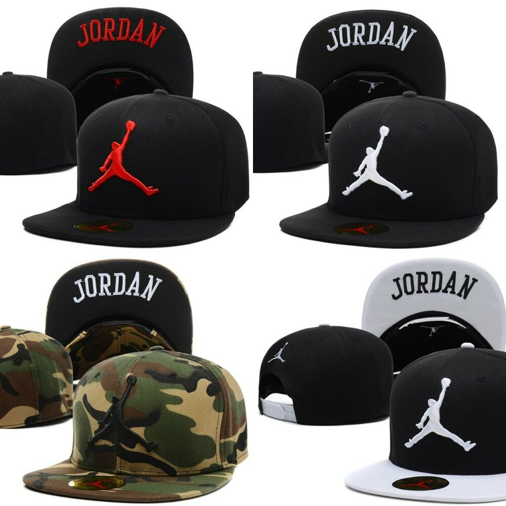 c25f7d00446 Details about New Men Hip-Hop adjustable bboy Baseball Cap JORDAN Cool  Fashion Snapback Hats