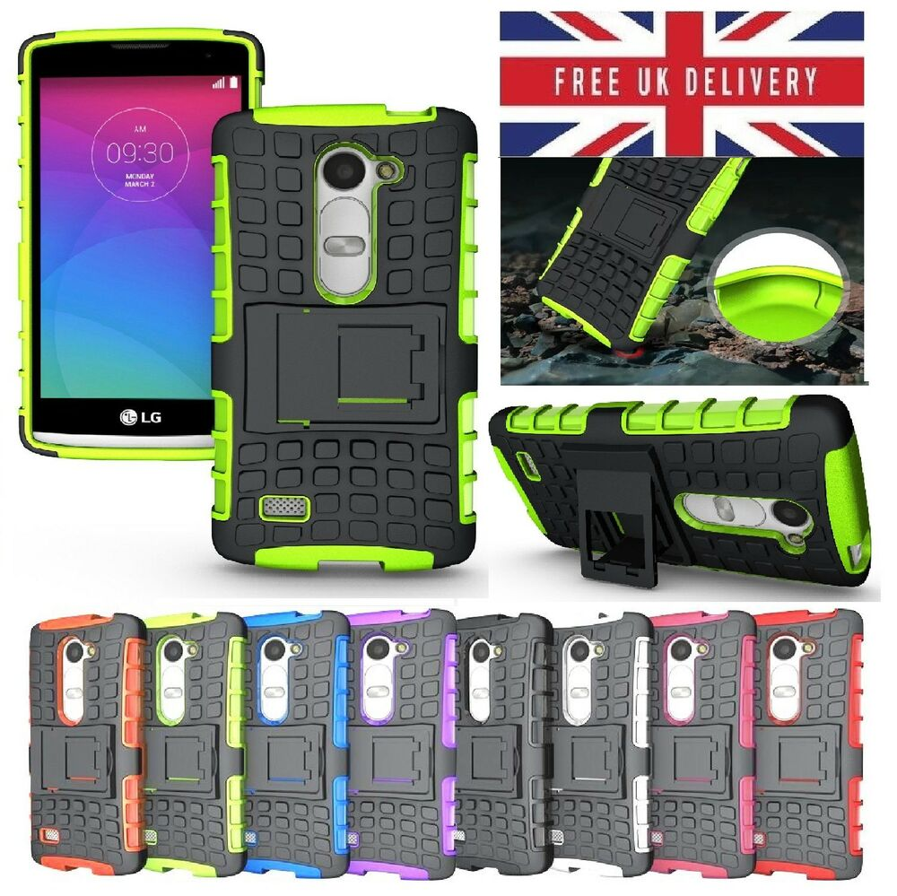 new product bb2f8 925e7 LG Spirit Case - Shockproof Rugged Bumper Tough Hybrid Armor Stand Case  Cover | eBay
