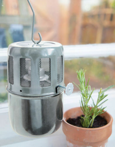 Apollo Hanging Paraffin Cold Frame Heater Anti Frost Mini Greenhouse Heater